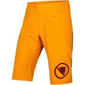 Endura SingleTrack Lite Spodnie krótkie Mężczyźni, pomarańczowy
